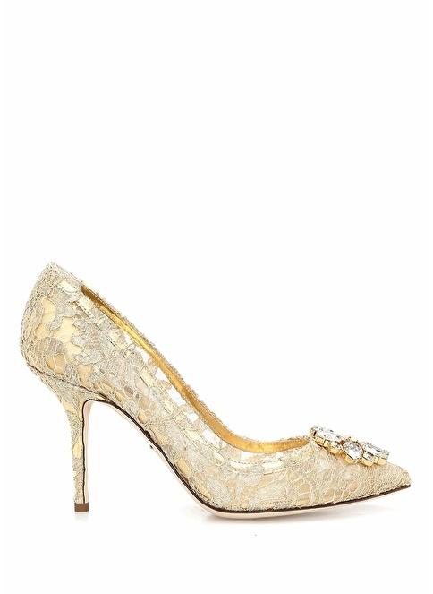Dolce&Gabbana Ayakkabı Altın